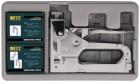 Степлер FIT Профи 4-14мм 4 в 1 металл. в чемоданчике+скобы  32165