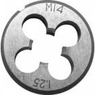 Плашка метрическая FIT Профи 4*0,7мм легированная сталь 70821