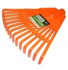 Грабли веерные SKRAB 14 зубьев, 200 мм, б/ч, пластиковые 28050