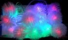 Электрогирлянда (нить) WN LED 40л. Пушистик, мульти, 8м, прозр. провод, соед. IP 20 01.5T.40+(8)