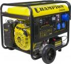 Генератор бензиновый CHAMPION GG 6501 E+ATS эл. стартер, счетчик