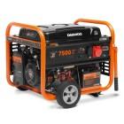 Генератор бензиновый DAEWOO GDA 8500E-3 электрозапуск, разъем ATS, колеса