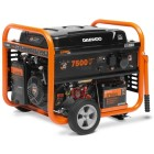 Генератор бензиновый DAEWOO GDA 8500 E электрозапуск, разъем ATS, колеса
