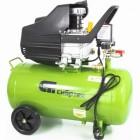 Компрессор воздушный СИБРТЕХ КК-1500/50 1,5 кВт, 198 л/мин., 50 л, прямой привод, масляный 58039