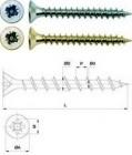 Шурупы универсальные FIT 3*10мм, желтопассированные, 53шт. 21110-2