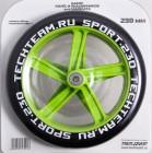 Набор колес и подшипников TECH TEAM TT 230 мм PU, зеленый TT 0158