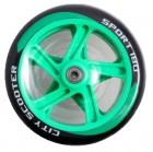 Набор колес и подшипников TECH TEAM TT 180 мм PU, синий TT 0194