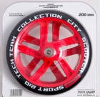 Набор колес и подшипников TECH TEAM TT 200 мм PU, зеленый TT 0157