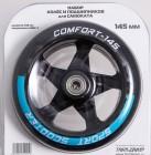 Набор колес и подшипников TECH TEAM TT 145 мм PU, голубой