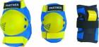 Набор защиты TECH TEAM TT Partner разм. L, желтый/синий 0218