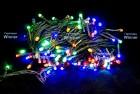 Электрогирлянда (нить) WN LED 200л., мульти, 13,5м, черный провод IP 20 m.01.5B.200