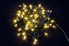 Электрогирлянда (нить) WN LED 100л., теплый белый, 7м, 7 режимов, черн. провод, IP 20 ww.01.5B.100