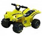 Квадроцикл на аккумуляторе TOYS 70*45*40 см, 3 км/ч, 6 V/4 Ah, 22 W, желтый TR 1305 Y