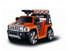 Машина на аккумуляторе TOYS 76*45*43 см, свет./зв. эфф., оранжевый EC-W003O (19)