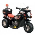 Мотоцикл на аккумуляторе TOYS 82*37*53см, 3 км/ч, 6 V/4 Ah, до 15 кг, черный TR991B