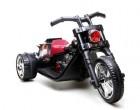 Мотоцикл на аккумуляторе TOYS 64*65*103см, 3 км/ч, свет./зв. эфф., аморт., черный DK-T01