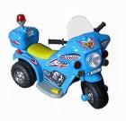 Мотоцикл на аккумуляторе SCOOTER 82*53*37см, 3 км/ч, 6 V/4 Ah, до 15 кг, синий TR 991 BE (19)