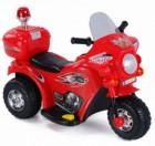 Мотоцикл на аккумуляторе TOYS 82*37*53см, 3 км/ч, 6 V/4 Ah, до 15 кг, красный TR991R (19)