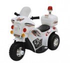 Мотоцикл на аккумуляторе TOYS 82*37*53см, 3 км/ч, 6 V/4 Ah, до 15 кг, белый TR991W