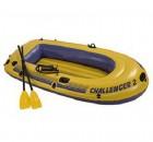Лодка INTEX Challenger-2 SET 236*114*41см, весла+ручной насос 68367