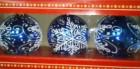 Набор шаров Д=6см*3шт. Белая снежинка в инд. упк. НТ-60-96