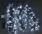 Гирлянда RL LED 600л., 24В, 3 нити*20 м, с контроллером,мерц. белая,черн. пр., IP54 RL-S3*20F-B/W