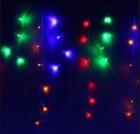 Бахрома WN LED 100л, мульти, 2,5*0,8*0,6*0,4м, 1 д. 2 цвета, прозр. провод, стык., IP20 m.02.5T.100+