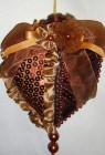 Сердце 11,5см, терракотовый Y2T001