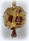 Цветочный шар 11,5см, терракотовый Y2T002