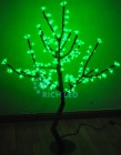 Дерево светодиодное RL Сакура 110, LED 200л., зеленое, 1,1*0,75м, 24В, IP65, RL-TRC-24-110*75-200-G