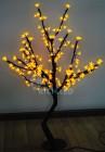 Дерево светодиодное RL Сакура 110, LED 200л., желтое, 1,1*0,75м, 24В, IP65, RL-TRC-24-110*75-200-Y