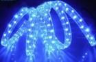 Дюралайт WN LED 3 жилы, 20м, синий ВИН0206