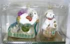 Набор Ботиночек с подарками+Мишка на кубике 2 шт. гр. № 4 7674, 6220