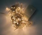 Электрогирлянда (нить) WN LED 100л., теплый белый, 7м, прозрачный провод IP 20 ww.01.5T.100