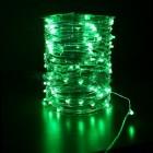 Электрогирлянда (роса-12В) IP67 Laitcom LED 100 зеленый, 10 м, пр. пр., трансф.(08-004)Rosa 100-10-G