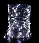 Электрогирлянда (роса-12В) IP67 Laitcom LED 100 белый, 10 м, пр. пр., трансф. (08-005)Rosa 100-10-W