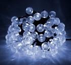 Гирлянда (пузырьки-2,3) IP44 Laitcom LED 100 белый, 10 м, черн. пр., до 10 шт. (18-026)PCS-100B-W