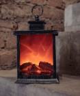 Светодиодный фонарь-камин Laitcom с имитацией живого огня, тепл. белый, 2C (24-070) B3327