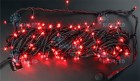 Гирлянда (нить-ПВХ) IP54 RL LED 200л, красная,20м,чер. пр.,до 5шт.(н.контр. RL-Cn2-220) RL-T20C2-B/R