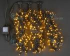 Гирлянда RL LED 600л., 24В, 3 нити*20 м, с 2-х канал.контроллером,желтая,черн.пр. IP54 RL-T3*20N2-Y