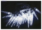Электрогирлянда (нить) WN LED 32л. Сосулька мал, сине-белый, 3,5м, прозрачный провод 01.5T.32-(2A)