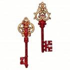 Ключ 5 х 15 см красный асс. из 2-х FA1401GR