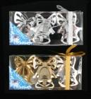Колокольчик 8,5см*3шт., 2цв., зеркальная серия в ПВХ с лентой Е 91064