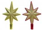 Наконечник Рождественская звезда 27см, 4цв., крошка Е 92011