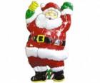 Панно Дед Мороз с колокольчиком 50*28см Е 3192