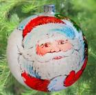 Шар Д=12см, Дед Мороз в уп. Г-120-8