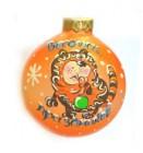 Шар Д=8см, Веселых праздников, в подарочной упаковке КУ-80-80784