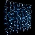 Гирлянда (штора) ZD LED 240л., синий, прозрачный провод LC3