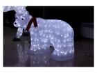 Фигура акриловая светодиодная ST Медведь белый LED 160л, 35см, провод 5м,  IP44  XML-001-C01 0223