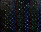 Сетка улица RL LED 384л, мульти, 2*3м, прозр. провод, соед. до 5шт.,(необход. контрол.) RL-N2*3-T/M